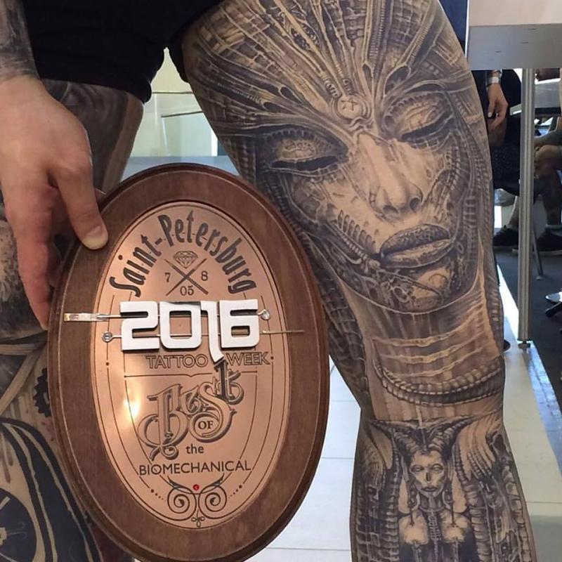 St.-Petersburg Tattoo Week-2016
