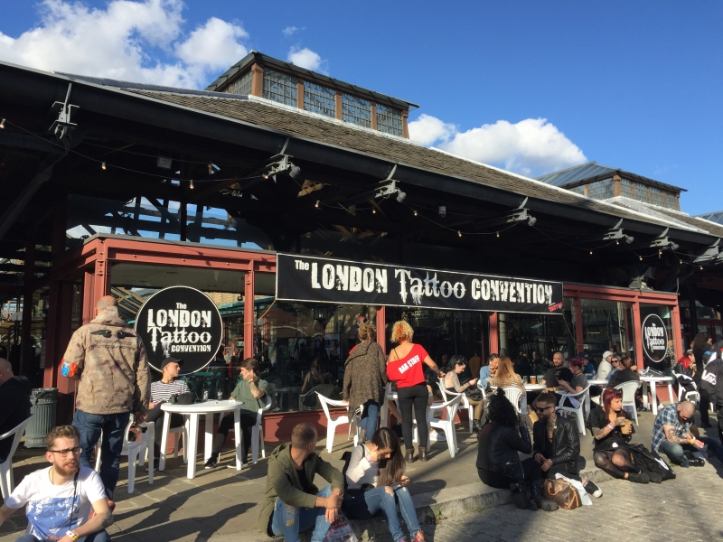 13-th International LONDON Tattoo Convention 2017