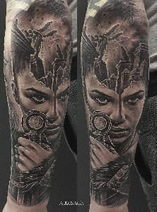 portrait tattoo realistic tattoo